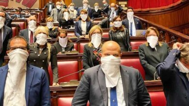 FdI protesta legge Zan