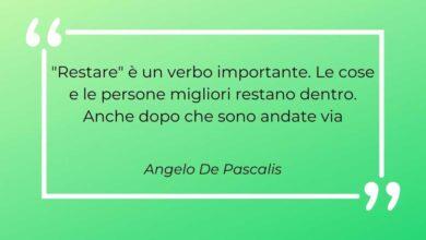Aforisma Angelo De Pascalis